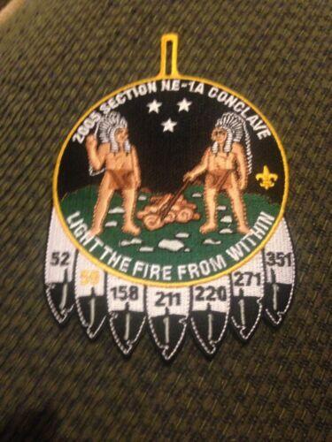 Mint 2005 Boy Scout OA Conclave Section NE-1a Patch