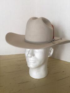 Details about Vintage 1970s 5x NEVER WORN Rancher Western Cowboy Hat 6 5 8