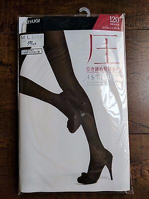 Premium Long Lasting Tights Black MADE IN JAPAN M-L ATSUGI Japan 压 120 Denier