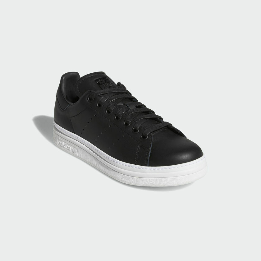 New New New Adidas Original Womens STANS SMITH BOLD BLACK / WHITE B28152 US W 5-11 TAKSE 66ae55