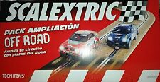 NEW SCX Scalextric 8870 Off Road Track - 4 Straights & 4 Curves - New in Box