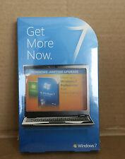 NEW Genuine Microsoft Windows 7 Home-To-Pro Upgrade Product Key X15-60590-01