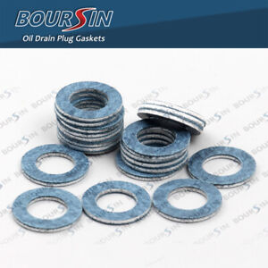 Oil Drain Plug Washer Gaskets For Toyota Prius Tundra Camry Corolla Tacoma 10PCS