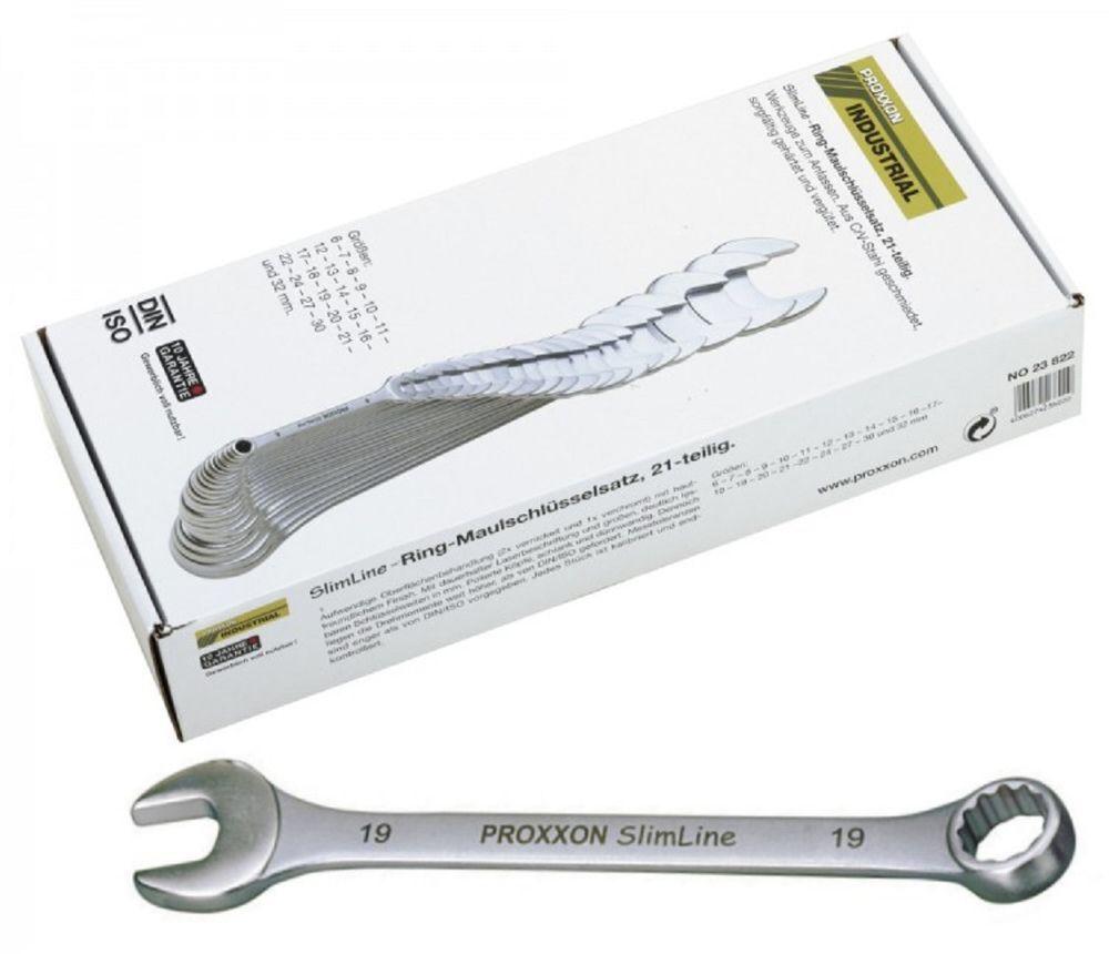Proxxon Ring Maulschlüsselsatz, 21 teilig, 6 32 mm