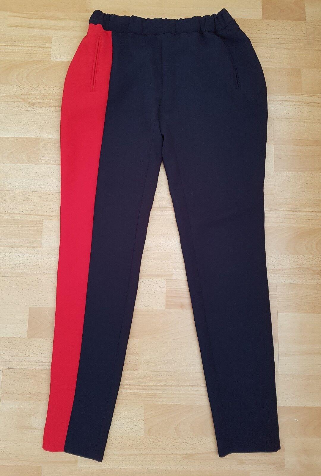 Splendido Claudie Pierlot Pantaloni con cerniere alla taglia taglia taglia 36, end o UK8-in buonissima condizione f16c0c