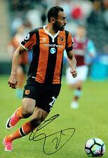 Ahmed ELMOHAMADY Signed Autograph 12x8 Football Hull City Photo A AFTAL COA