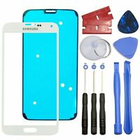 White Front Outer Lens Screen Glass Replacement For Samsung Galaxy S5 Sm-g900