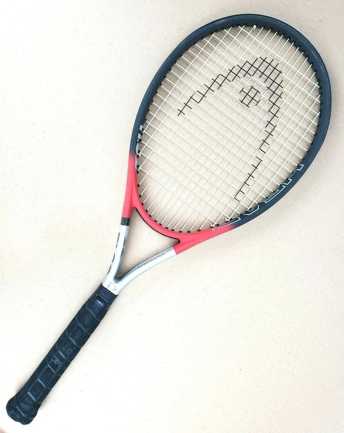 Head Intelligence Ti.S2 xtralong Raquette de tennis 4 1 4  Grip avec étui