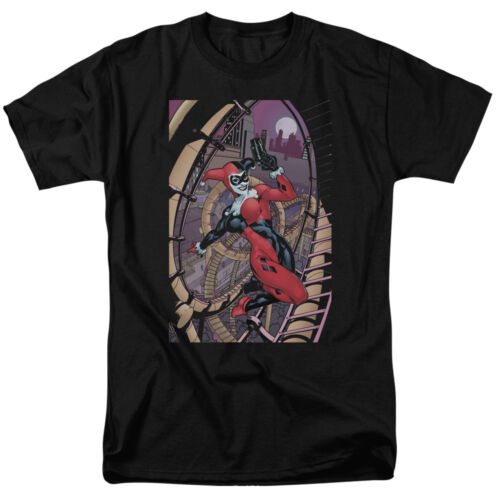 Batman HARLEY QUINN FIRST Cover Roller Coaster Licensed T-Shirt All Sizes