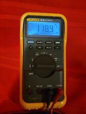 Fluke 83iii 83 3 Digital Backlight Multimeter Oem Yellow Rubber Case