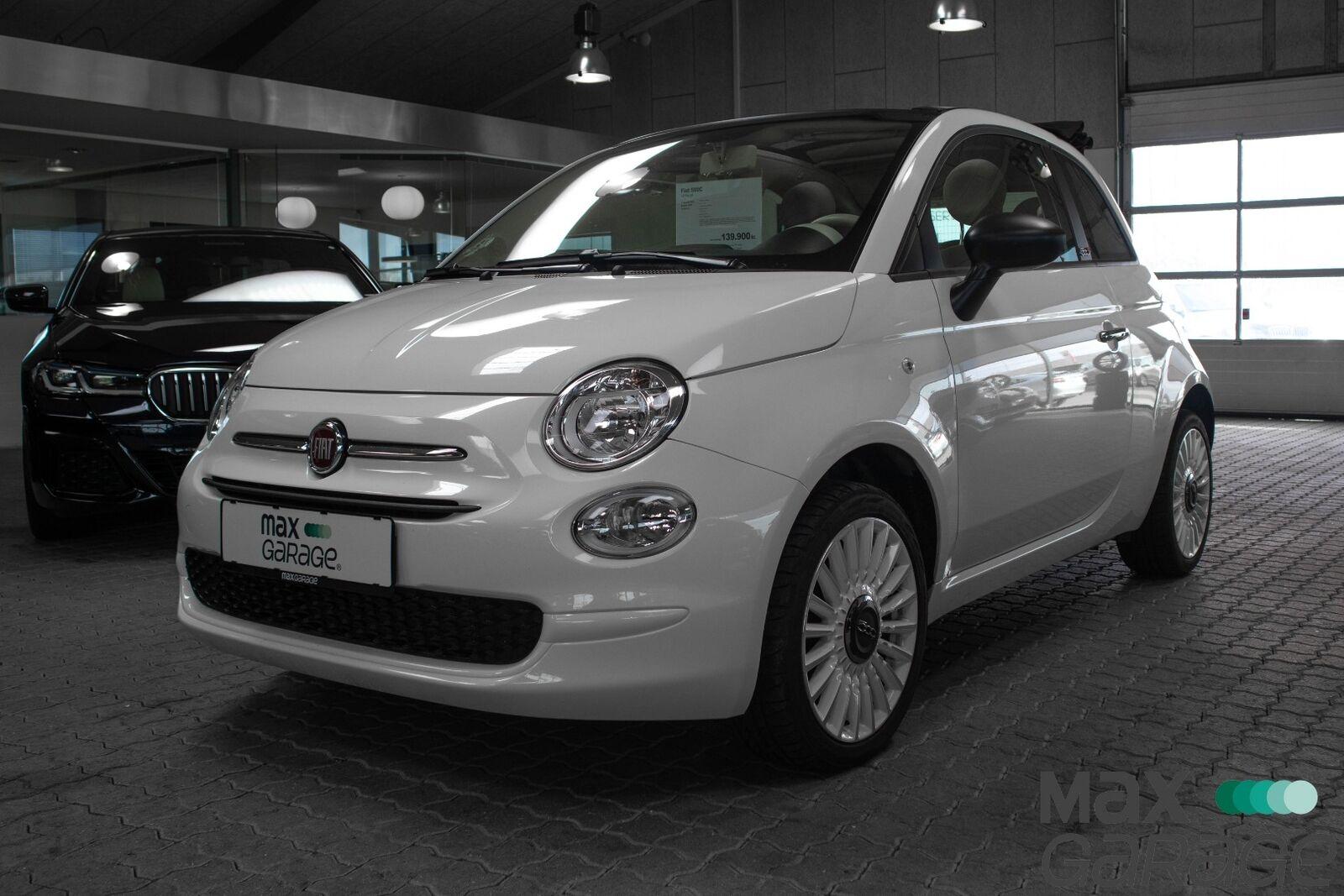 Fiat 500C 1,2 Pop 2d - 139.900 kr.