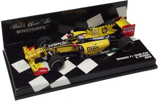 Renault F1 Team R30 V.Petrov 2010 410100012 1/43 Minichamps