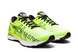 Asics-Gel-Nimbus-22-Men-039-s-Running-Shoes-Yellow-Run-Sneakers-2020-1011A901-750