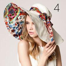 Fashion Women Lady Beach Sun Hat Floppy Fold Wide Large Brim Summer Anti UV  Cap  2b34fa4f8d7