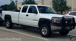 Details About 2002 2006 Chevy Silverado 2500hd Factory Fender Flares Set Of 4 Black Textured