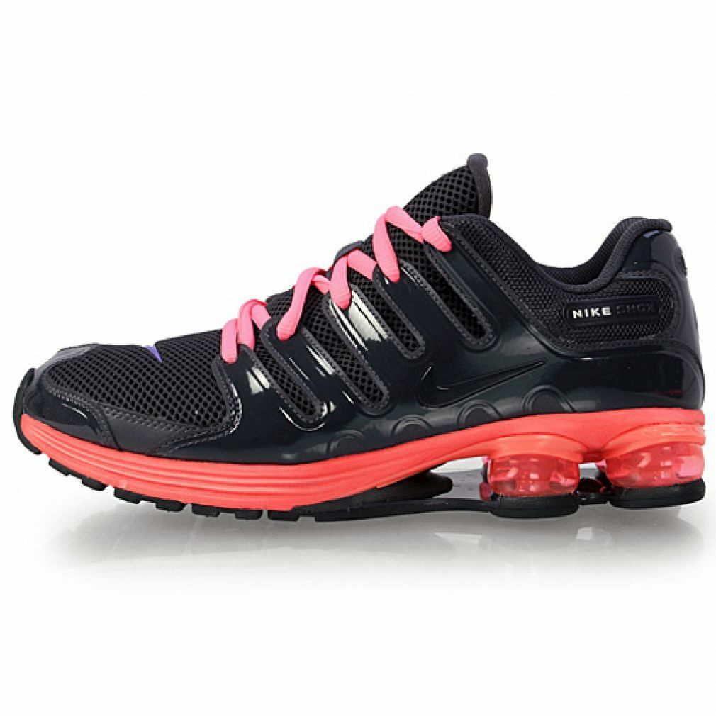 Mens Nike Shox Lunar NZ Premium Premium Premium Sneakers New Grey Infrared   Pink 429876-001 sku 210940