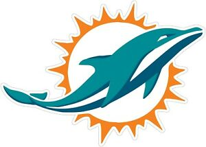 Miami-Dolphins-NFL-Vinyl-Decal-You-Choose-Size-2-034-38-034