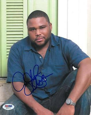 Generous Anthony Anderson Signed Authentic Autographed 8x10 Photo #h88470 psa/dna