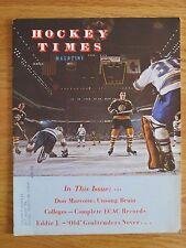 PHIL ESPOSITO Hockey Times March 1971 Magazine BOSTON BRUINS Don Marcotte