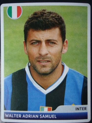 Panini 129 Walter Adrian Samuel Inter Mailand UEFA CL 2006/07 Fußball