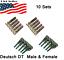 10-pairs-Deutsch-DT-Series-pin-Connector-Male-amp-Female-20-pcs-Terminals-metal thumbnail 3