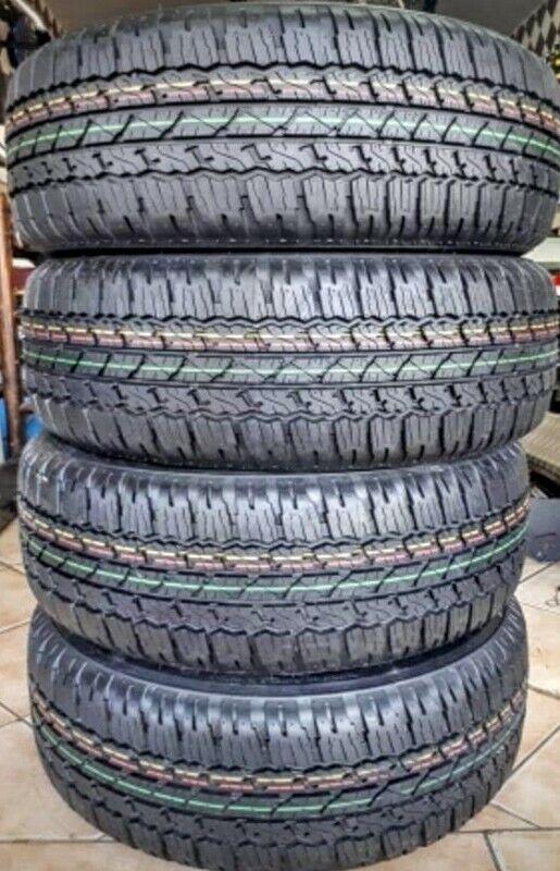 265/65/17 Bridgestone Dueller AT brand new set for R6500.