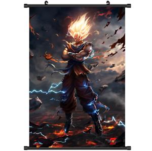 """Hot Japan Anime Dragon Ball Z Goku Home Decor Poster Wall Scroll 8/""""x12/"""" PP218"""