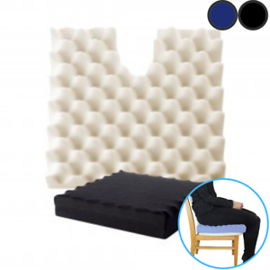 Putnams-Sero-Pressure-Cushion-Coccyx-Cut-Out-Comes-With-Cover-Black-or-Blue