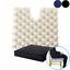 Putnams-Sero-Pressure-Cushion-Coccyx-Cut-Out-Comes-With-Cover-Black-or-Blue thumbnail 1