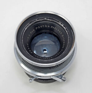 Ernemann-Doppel-Anastigmat-240mm-F6-8-N0-4-Custom-Mount-In-Alphax-Shutter-SALE