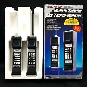 Vintage-1990-DSI-Sound-Master-Walkie-Talkie-Brick-Cell-Phone-Tested-Original-Box