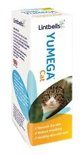Lintbells Yumega Cat  Supplement - Reduces moulting and furballs  50ml