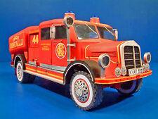 Circus Roncalli Feuerwehrauto 1:20 Spur 1 J.F.Schreiber Bastelbogen Kartonmodell