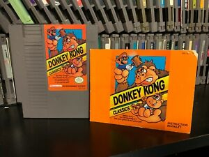 Donkey Kong Classics Nes Nintendo Video Game Cart And Manual Only 45496630423 Ebay
