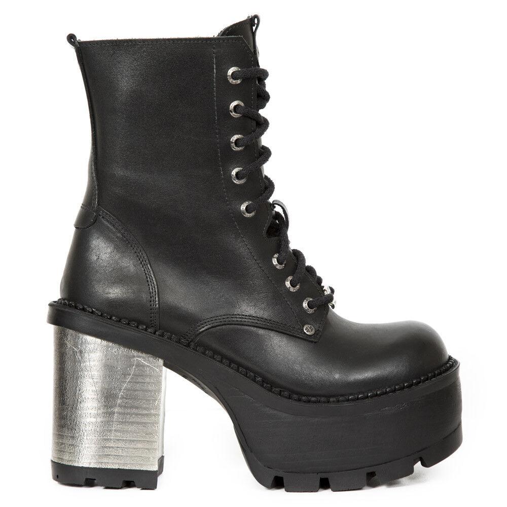 New Rock NR M.SEVE22 M.SEVE22 M.SEVE22 S1 Black - Boots, Seventy, Women 511309