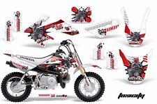 AMR Racing Honda Graphic Kit Bike Decal CRF 50 Decal MX Parts 2004-2013 TOXIC R