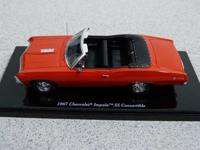 1967 Chevrolet Impala SS Congreenible Cabrio Bolero red red red red TSM Modellauto 1 43 fa6558