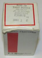 Eaton Cutler Hammer Plug In On Delay Timer Module .15-15 Second E51mte