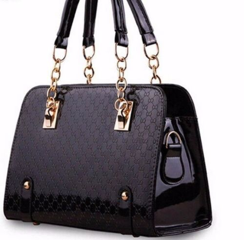 Leather Bag Handbag Chain Pochette Women Plaid wRTPz68q