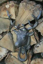 Hirschklopfer aus Gusseisen Jagd Türklopfer Türklopfer Hirsch