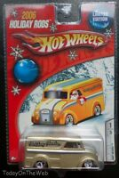 Holiday Hauler Rods Dairy Delivery Truck Real Riders Gold Limited Edition