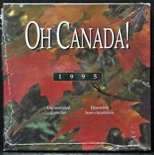1995 CANADA - OH CANADA! Uncirculated Coin Set - 7 Coins - RCM - Sealed