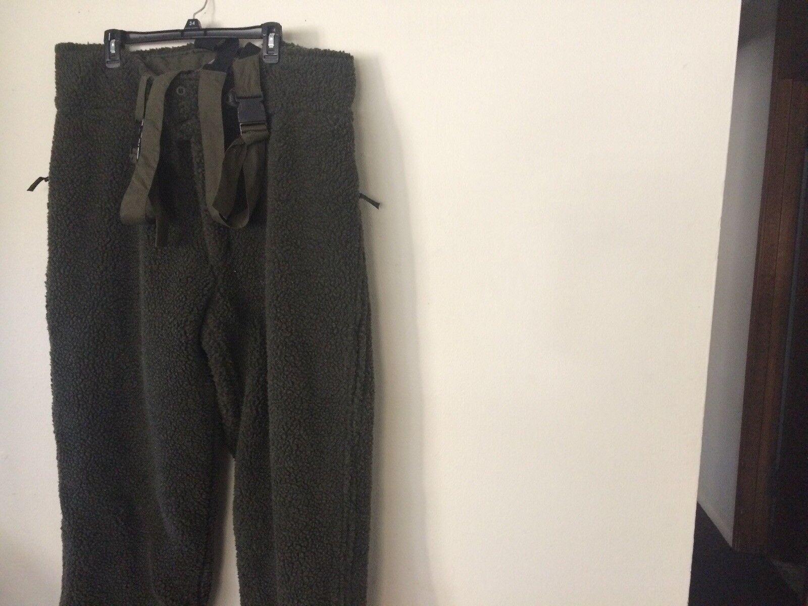 Akah Shooter King Hunting Bib Pants Fleece Made In Germany XL