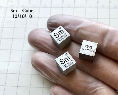 C 6 Element 99,9/% Kohlenstoff Dichte Standart Würfel Carbon density cube