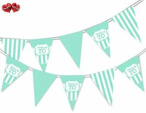 Happy-70th-Mint-Happy-Birthday-Anniversary-Themed-Bunting-Banner-by-PARTY-DECOR