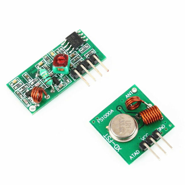 433Mhz RF transmitter and receiver link kit for Arduino/ARM/MCU WL NEW