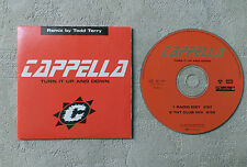 """CD AUDIO / CAPPELLA """"TURN IT UP AND DOWN (REMIX)"""" 1998 CD SINGLE 2T EMI FRANCE"""