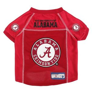 Alabama-Crimson-Tide-NCAA-LEP-Dog-Mesh-Jersey-Officially-Licensed-Sizes-XS-XL