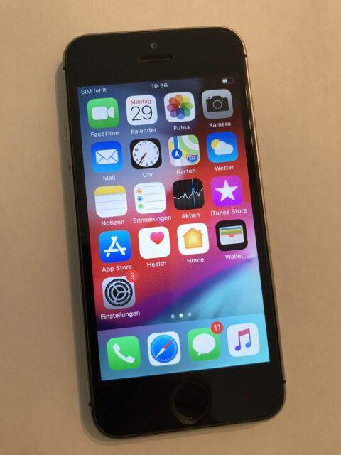Apple iPhone 5s - 16GB - Silber (Ohne Simlock) A1457 (GSM ...