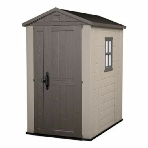 Keter Factor 4 X 6  Plastic Garden Shed/Garage/ Storage Free QUICK Delivery!!